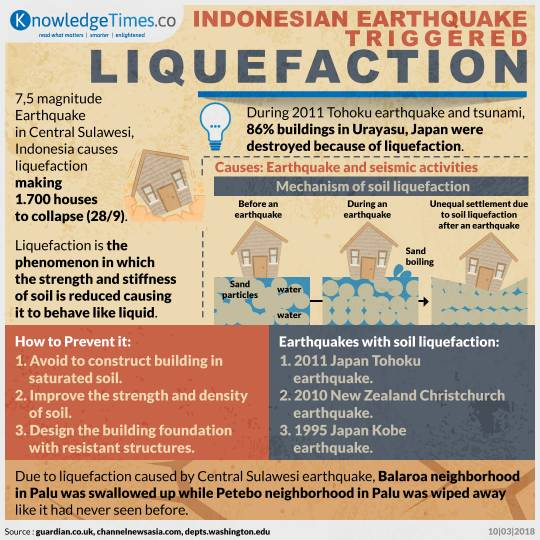 Indonesian Earthquake Triggered Liquefaction