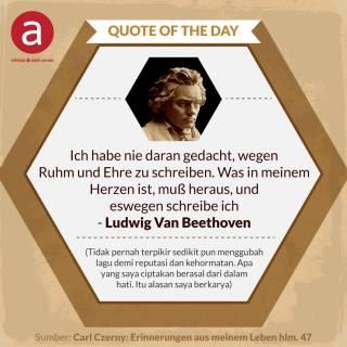 Ini Alasan Beethoven Berkarya