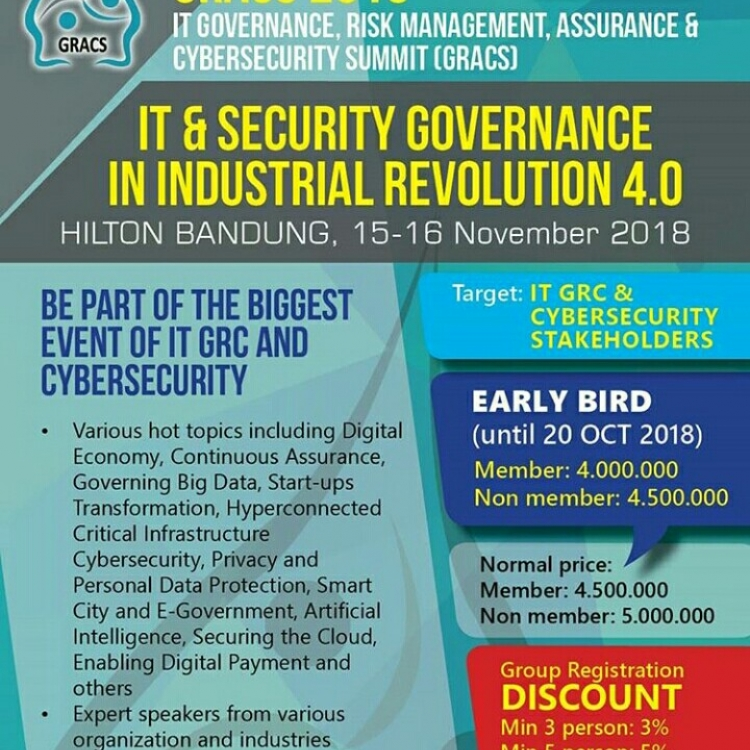 IT Governance, Risk Management, Assurance & Cybersecurity Summit 2018