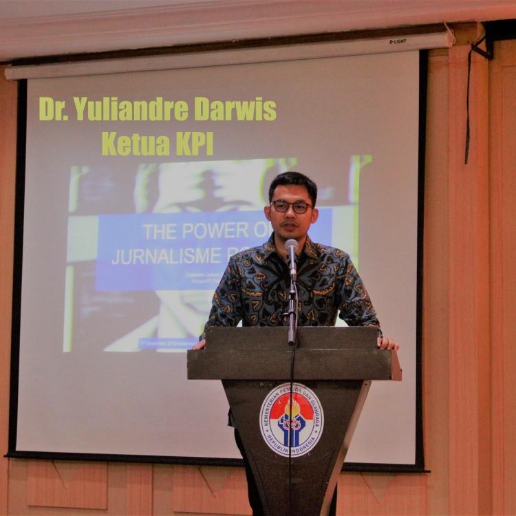 Ketua KPI Dukung Media Akutahu Perkuat Jurnalisme Positif