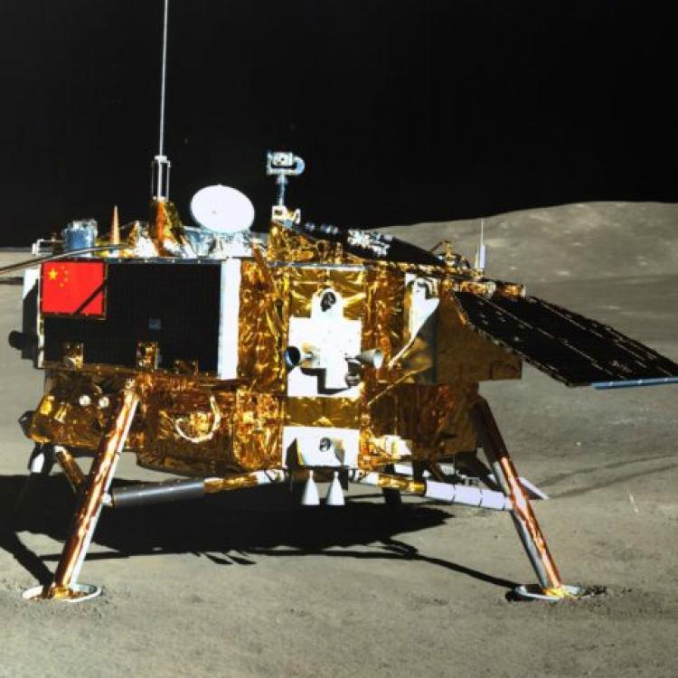 Chang`e 4 Tiongkok Berhasil Melakukan Pendaratan di Bulan dengan Bawa Kentang
