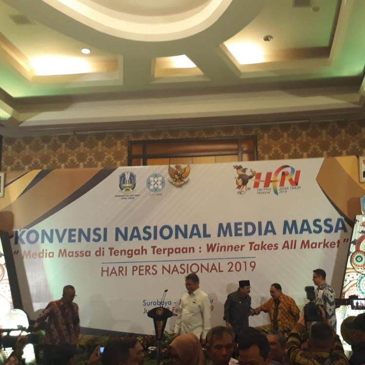 Menkominfo Rudiantara Buka Konvensi Nasional Media Massa