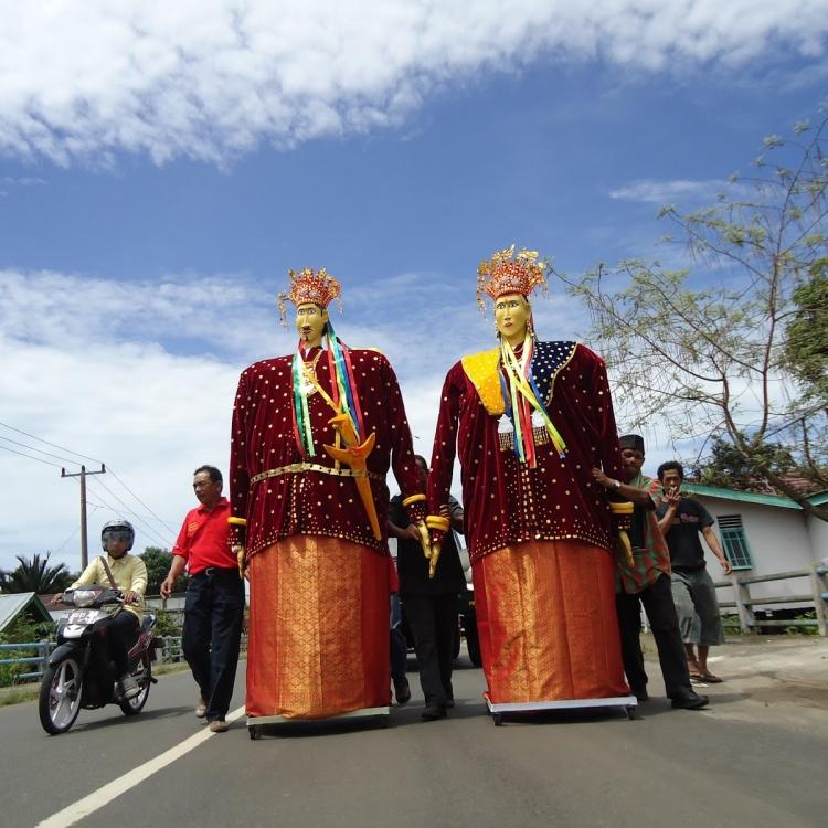 Barong Landong, Ondel-Ondel dari Bengkulu