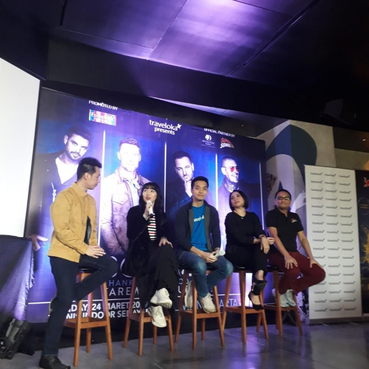 Boyzone Konser di Jakarta, Isyana Sarasvati Bocorkan Momen Spesial