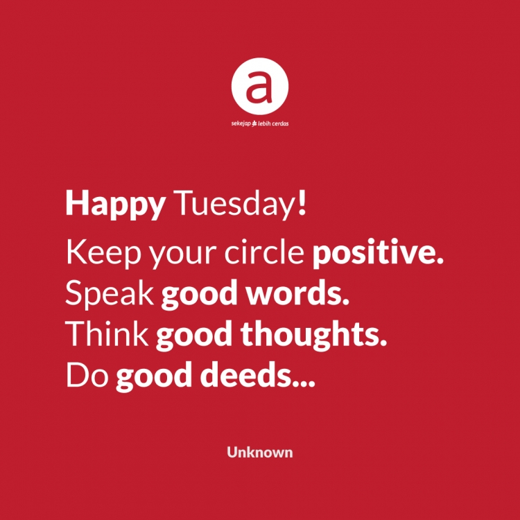 Happy Tuesday!