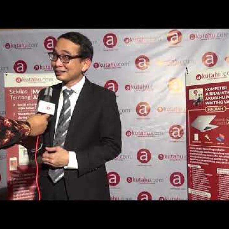 Presiden ISACA Indonesia sekaligus Pendiri Media Akutahu Sampaikan Perkembangan Digital
