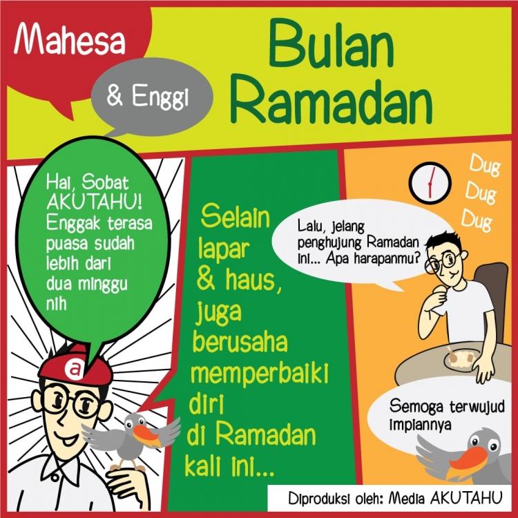 Mahesa dan Enggi di Bulan Ramadan