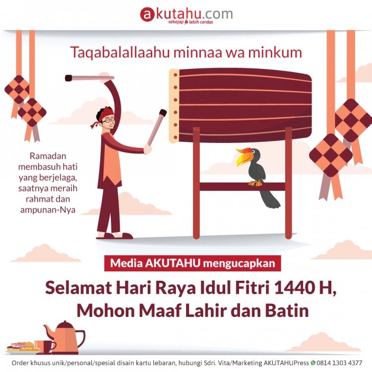 Selamat Hari Raya Idul Fitri 1440H