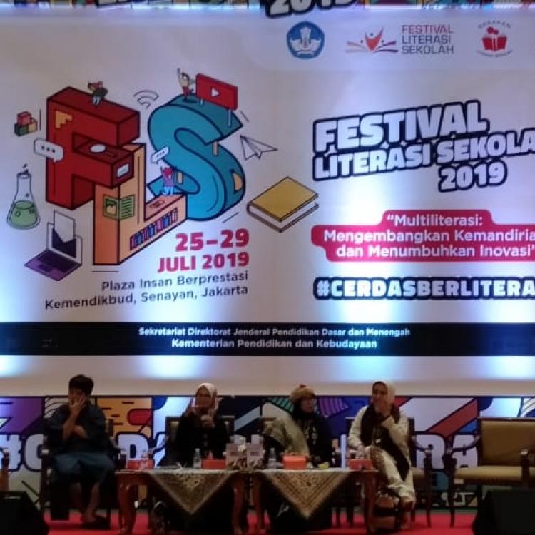 Festival Literasi Sekolah Raih Sambutan Hangat dari Masyarakat