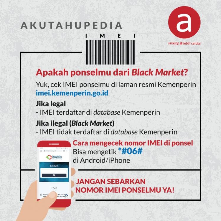 AKUPEDIA: Apakah ponselmu dari Black Market?