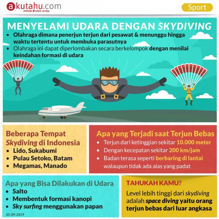 Menyelami Udara dengan Skydiving