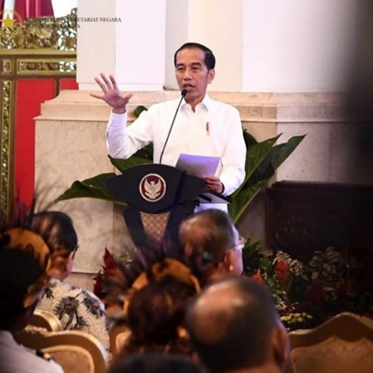 Ini Pesan Jokowi untuk Para Menteri di Kabinet Indonesia Maju