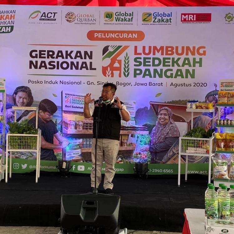 Indonesia di Ambang Resesi, ACT Inisiasi Gerakan Lumbung Pangan