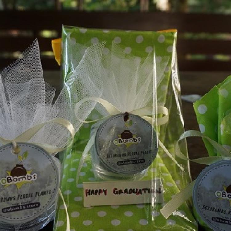 Unik, Mahasiswa IPB Ciptakan Green Souvenir Untuk Perkenalkan Tanaman Herbal