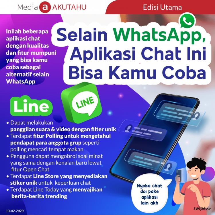 Selain WhatsApp, Aplikasi Chat Ini Bisa Kamu Coba
