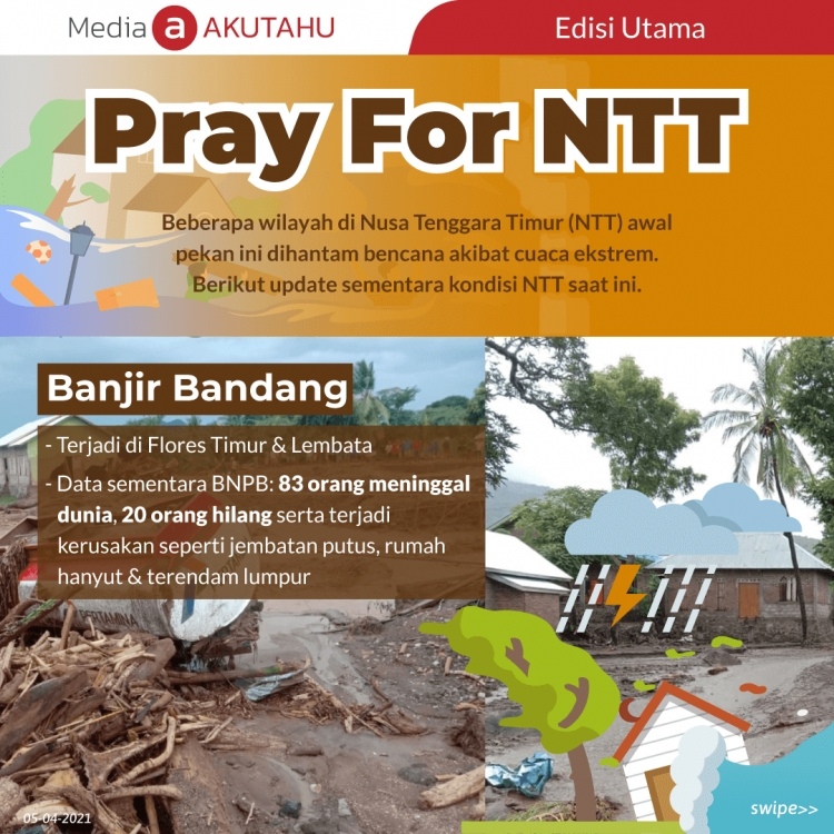 Pray for NTT