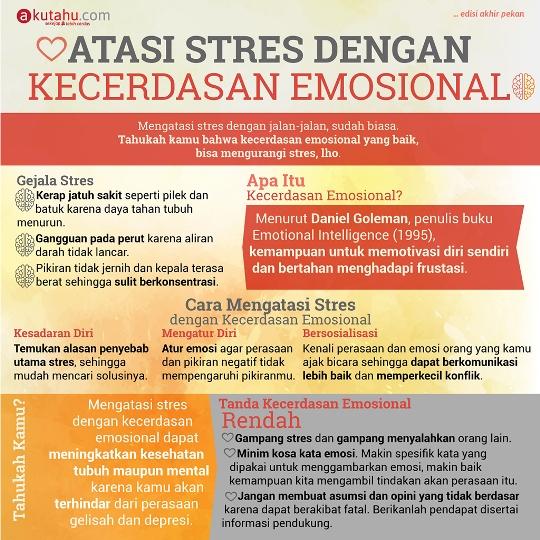 Atasi Stres Dengan Kecerdasan Emosional