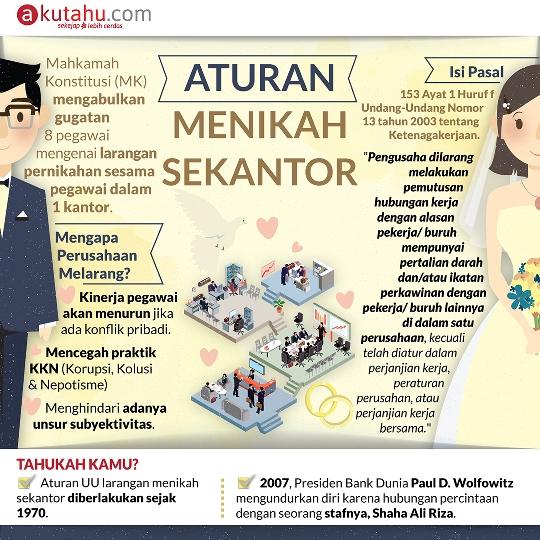 Aturan Menikah Sekantor