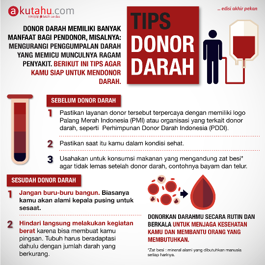 Tips Donor Darah