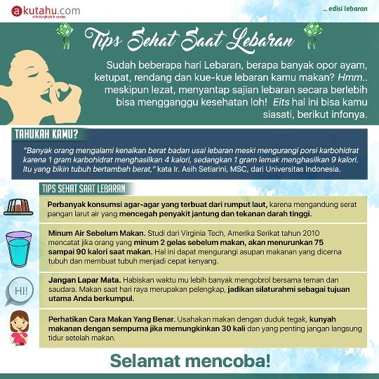 Tips Sehat Saat Lebaran