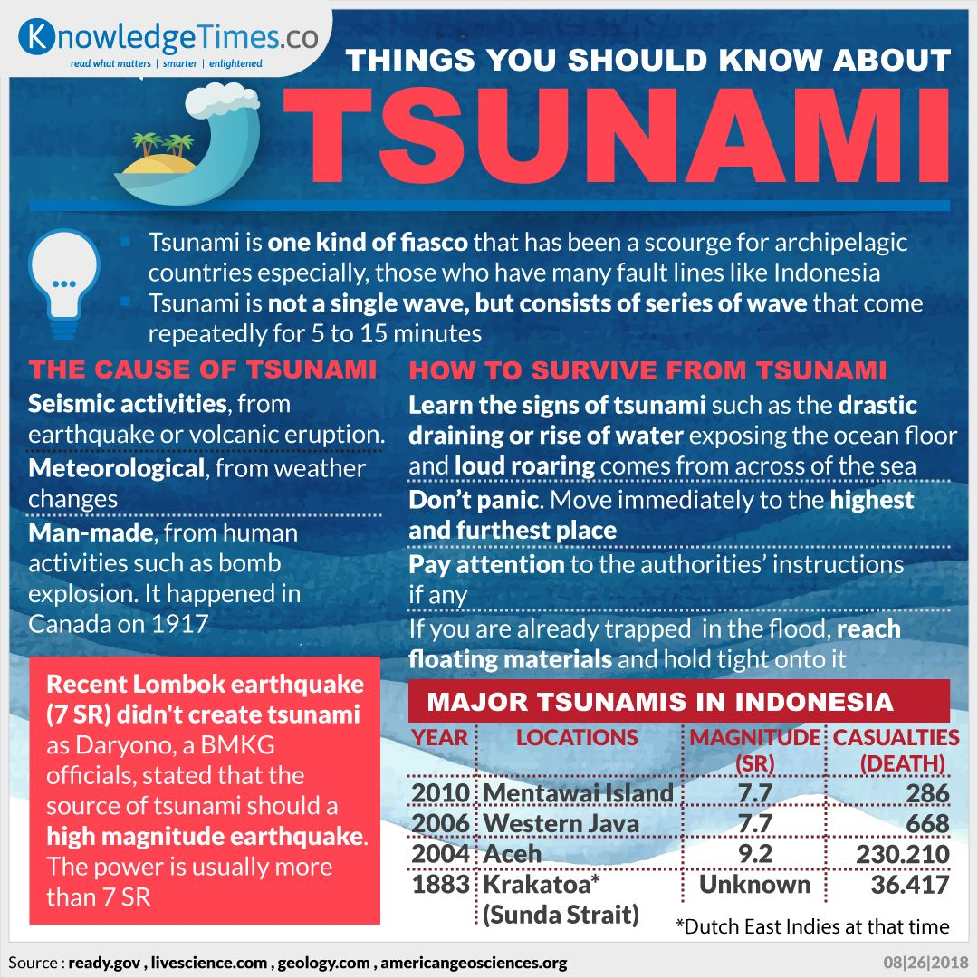THINGS YOU SHOULD KNOW ABOUT TSUNAMI