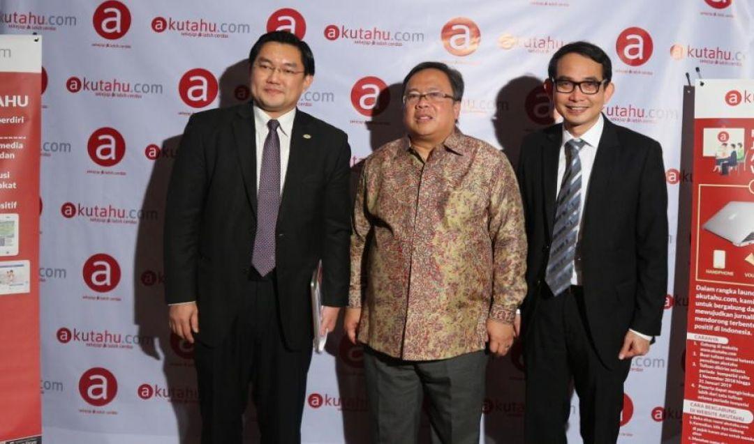 Menteri PPN Sambut Baik Perkembangan Digital dan Media Positif