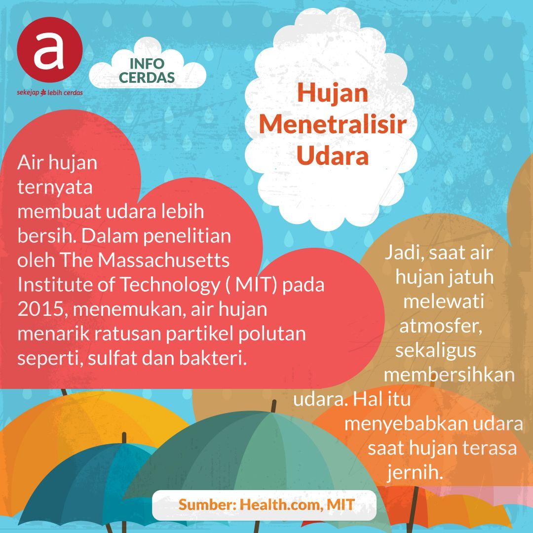 Hujan Menetralisir Udara
