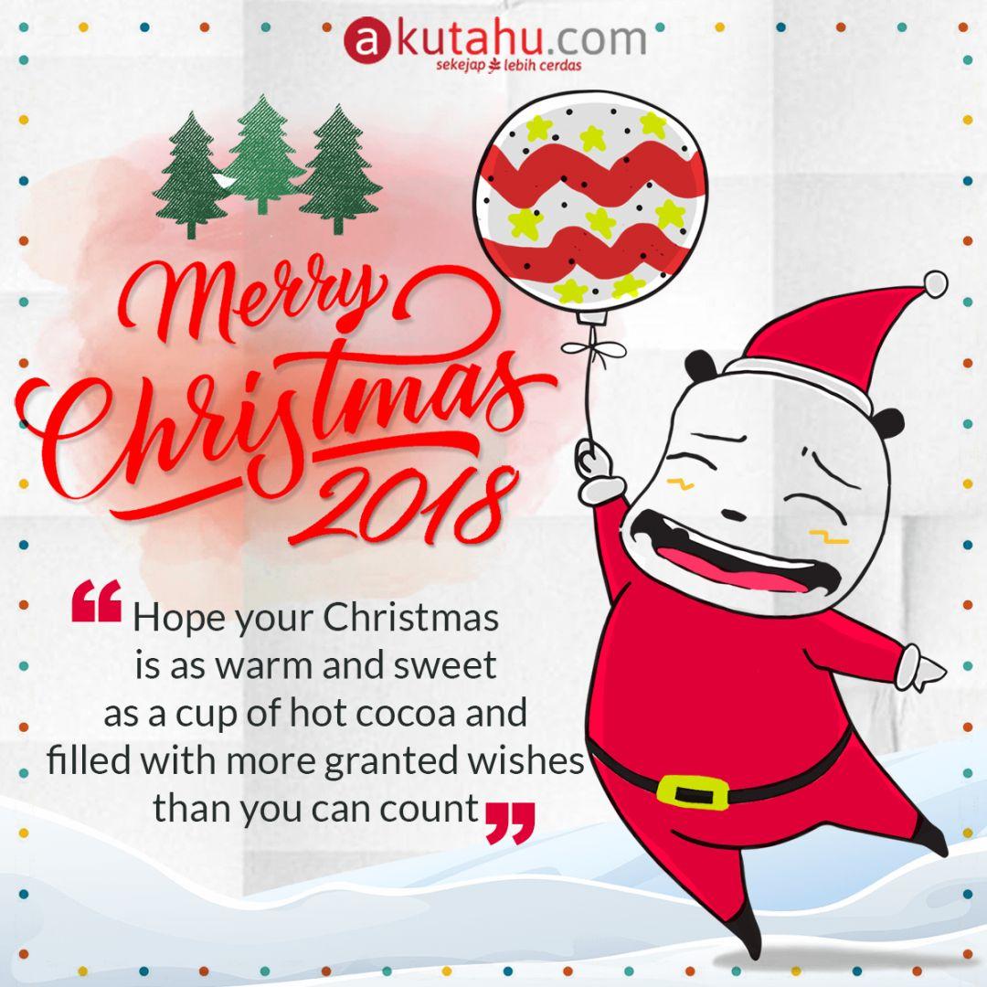 Selamat Hari Raya Natal 2018!