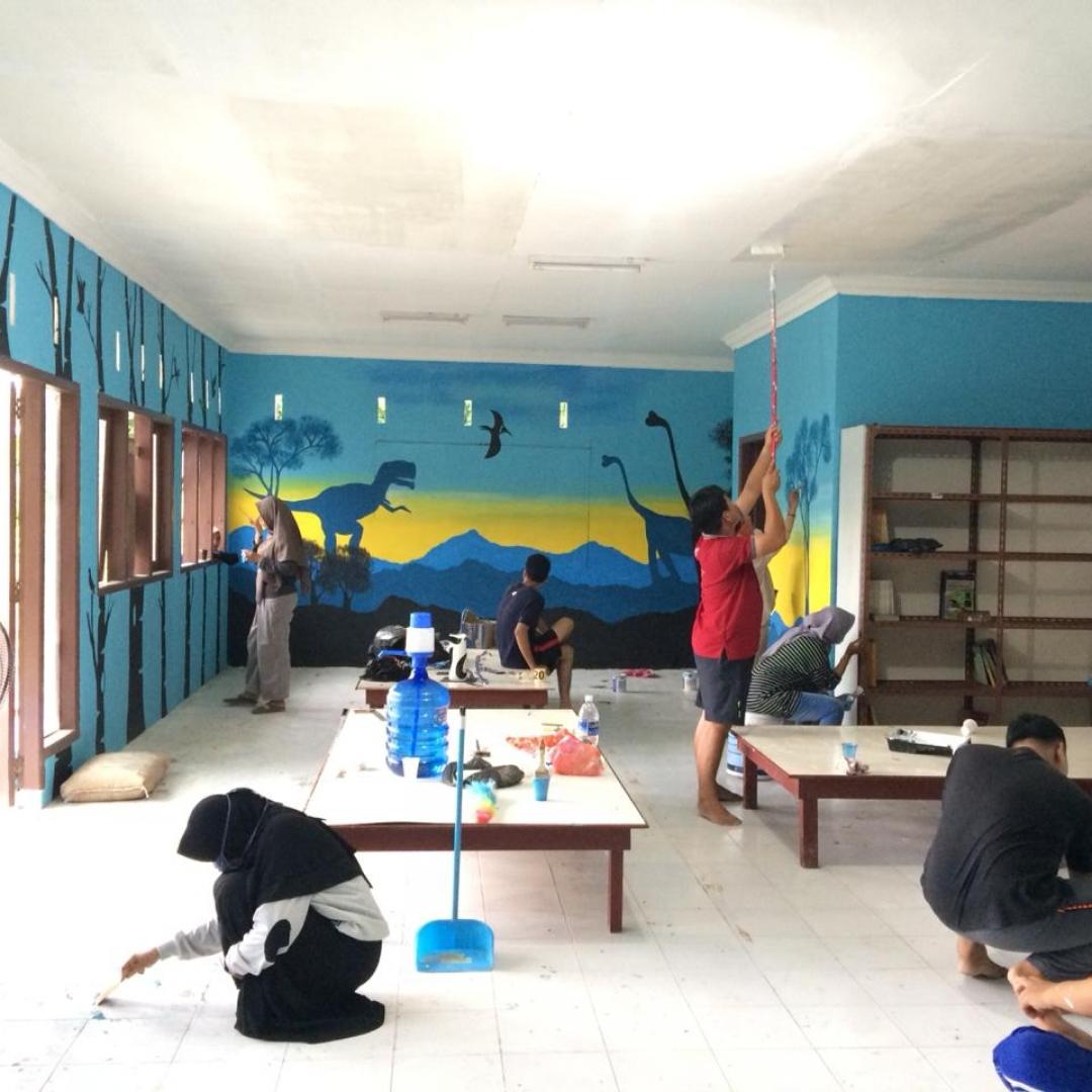 Bangkitnya Eksistensi Rumah Pintar di Kampung Bugis