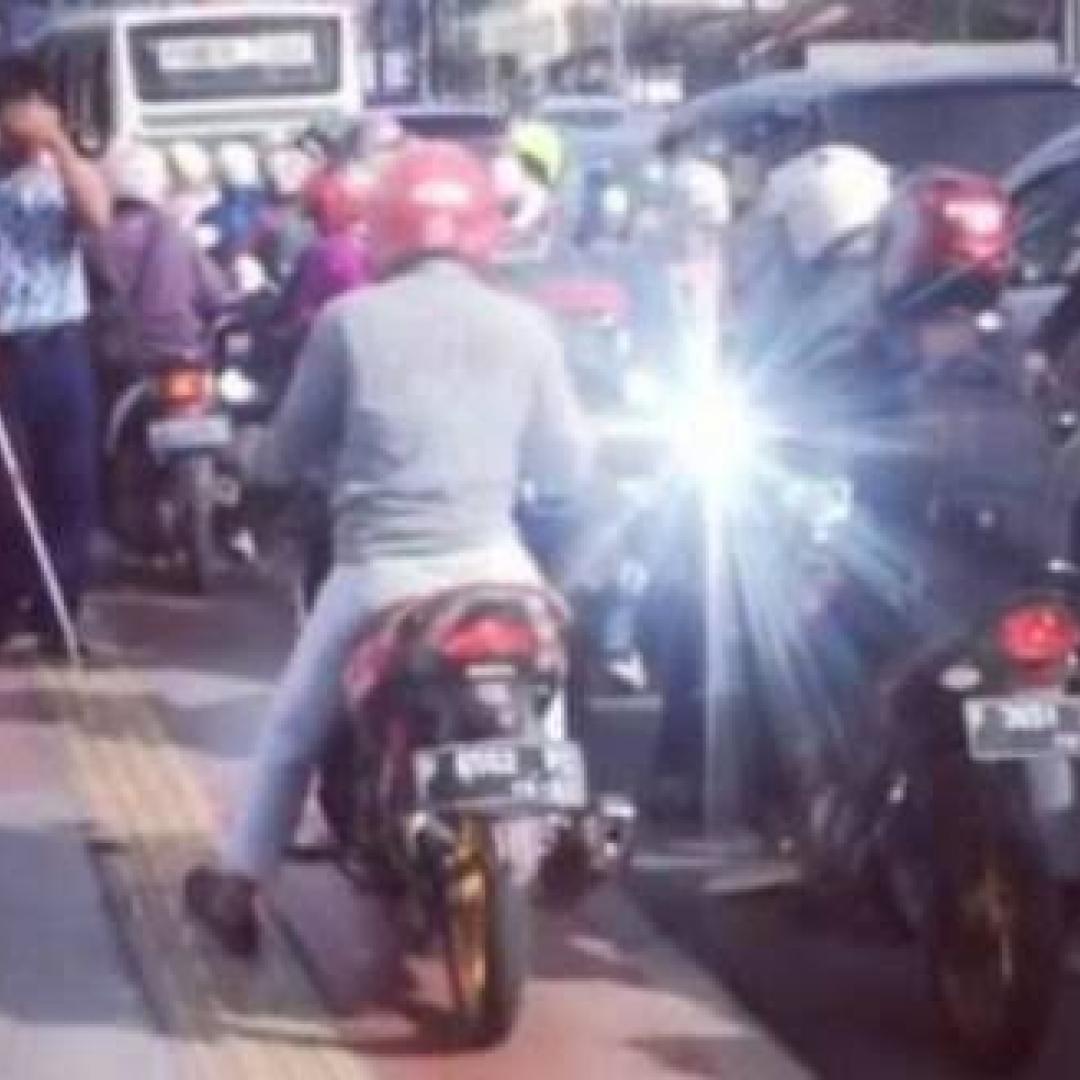 Miris, Hak Pengguna Jalan Disabilitas Sering Dirampas