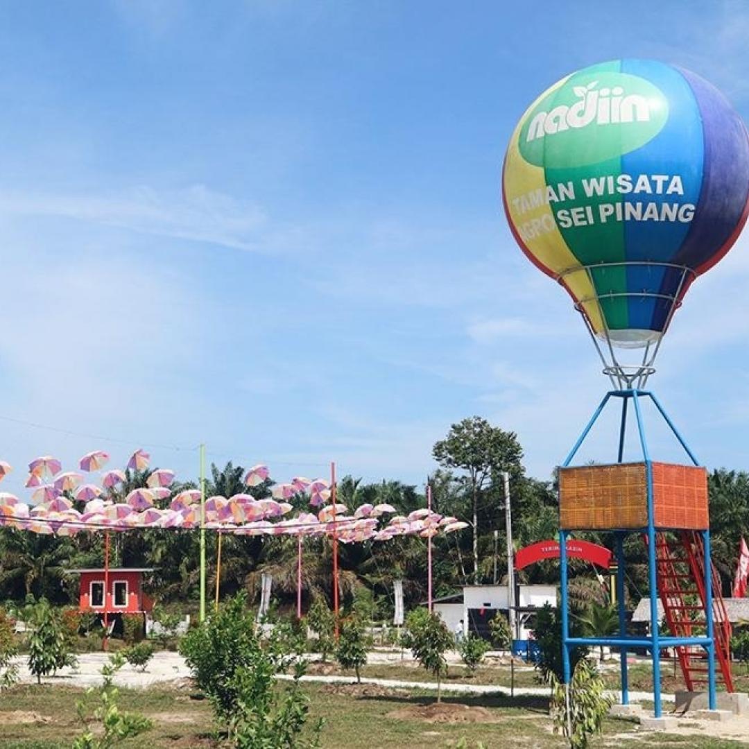 Kreatifitas Tanpa Batas di Taman Agrowisata Nadin, Sungai Pinang