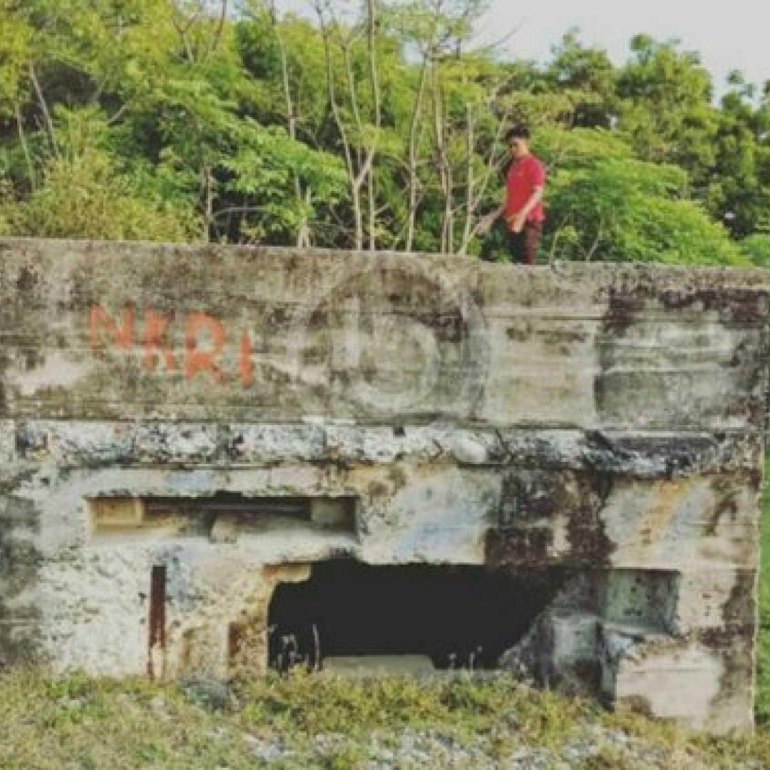 Di Aceh, Ternyata Ada Benteng Peninggalan Jepang