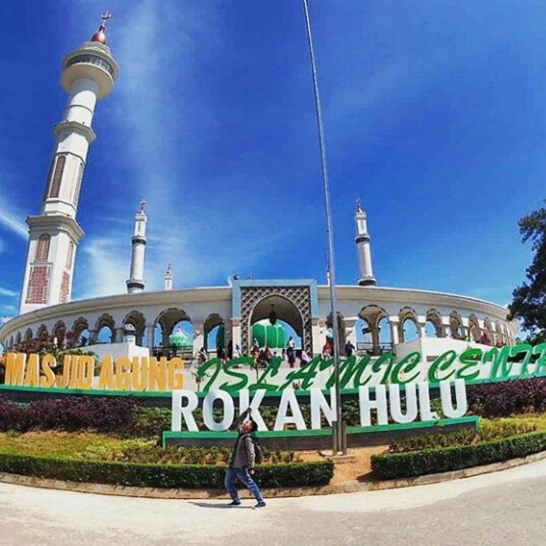 Intip Masjid Terbaik di Riau