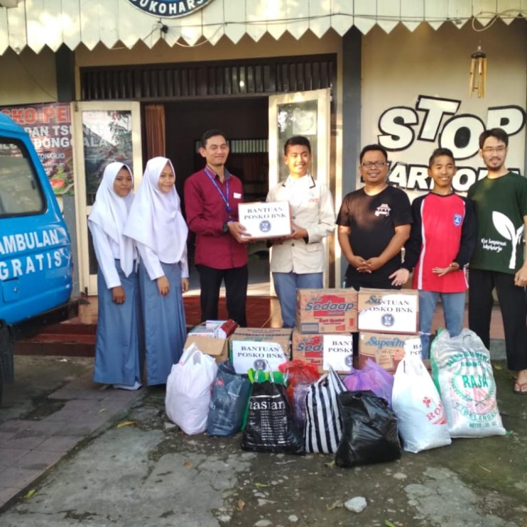 Aksi Galang Dana untuk Korban Bencana dari Generasi Muda Sukoharjo
