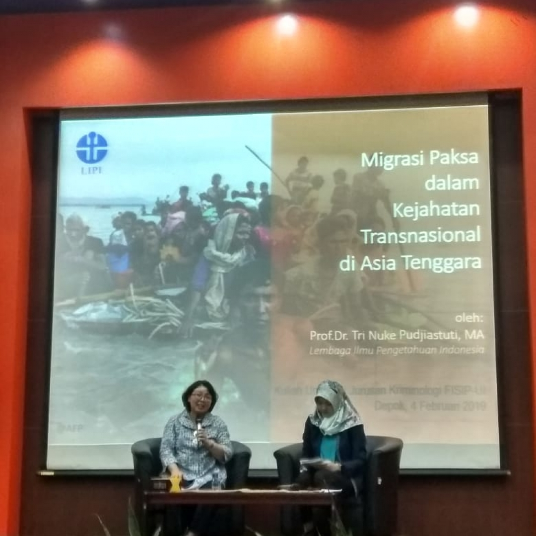 Fenomena Migrasi Paksa di Asia Tenggara