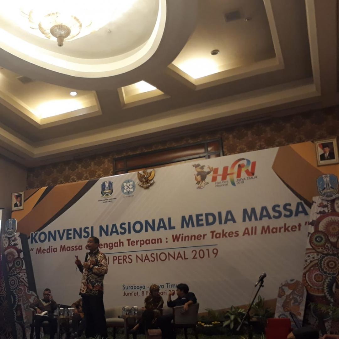 Di HPN 2019, Menpar Pariwisata Arief Yahya Beri Pesan untuk Media