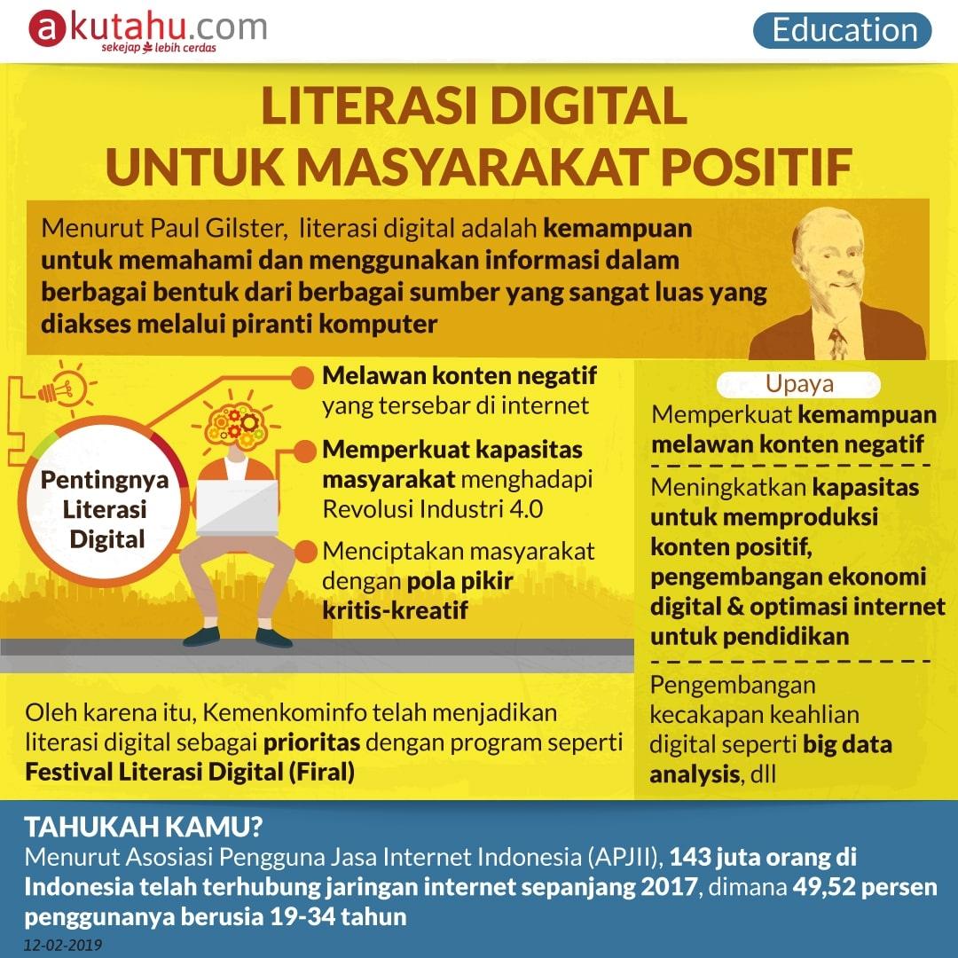 Literasi Digital Untuk Masyarakat Positif