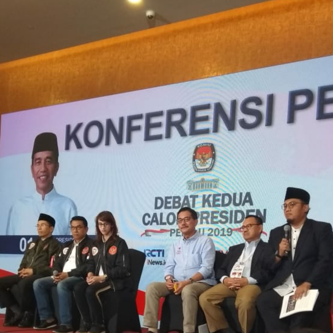 Debat Kedua Calon Presiden 2019 Berlangsung Sukses