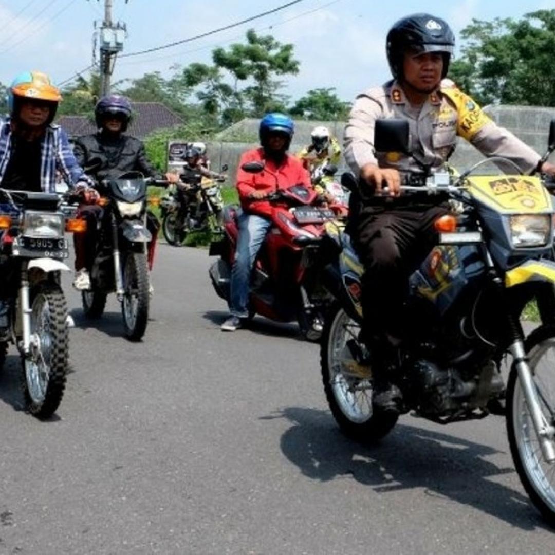Balapan Motor Jadi Kegiatan Positif di Kediri