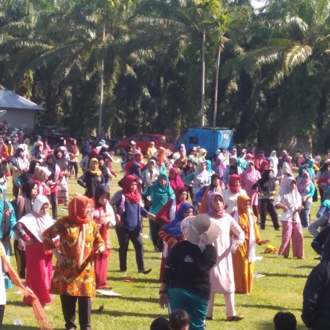 Ajak Ratusan Masyarakat, Tari Gandai dari Bengkulu Coba Pecahkan MURI