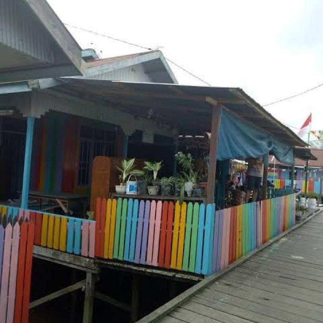 Kampung Ketupat yang Penuh Sejarah di Tepian Sungai Mahakam