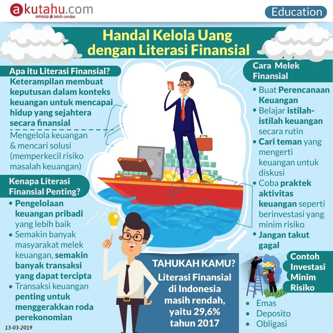 Handal Kelola Uang dengan Literasi Finansial