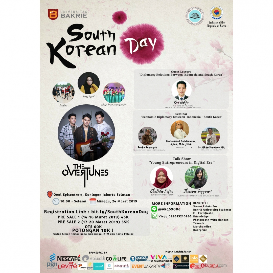 Universitas Bakrie Gelar South Korean Day