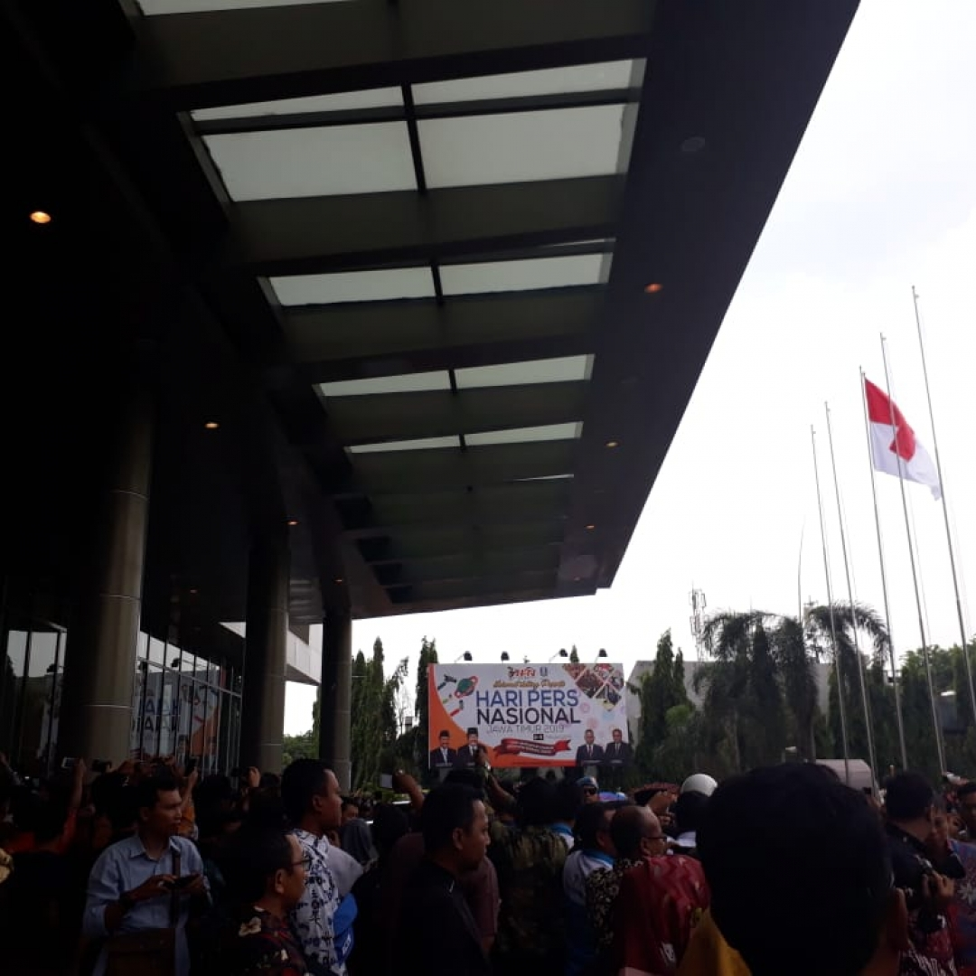 DKI Jakarta Gelar Warung Keluarga Wartawan
