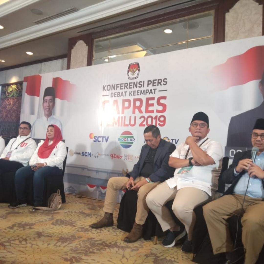 Pasca Debat, Timses Puji Kesopanan Jokowi dan Prabowo
