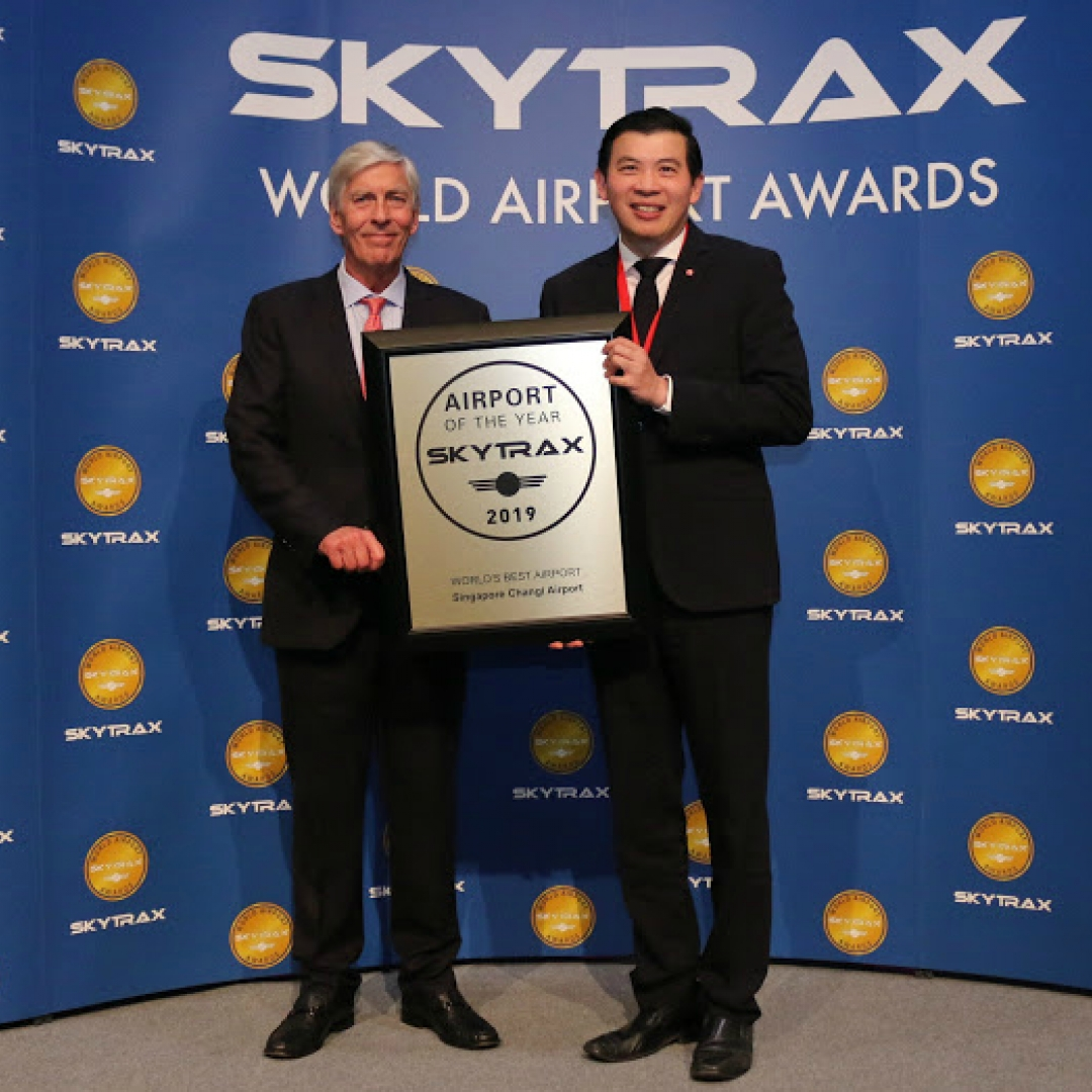 Changi Airport Kembali Jadi Bandara Terbaik di Dunia 2019
