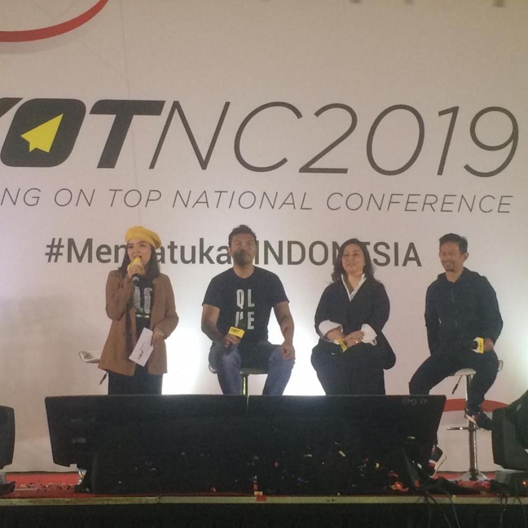 Young on Top Sukses, Dihadiri Ribuan Anak Muda Indonesia