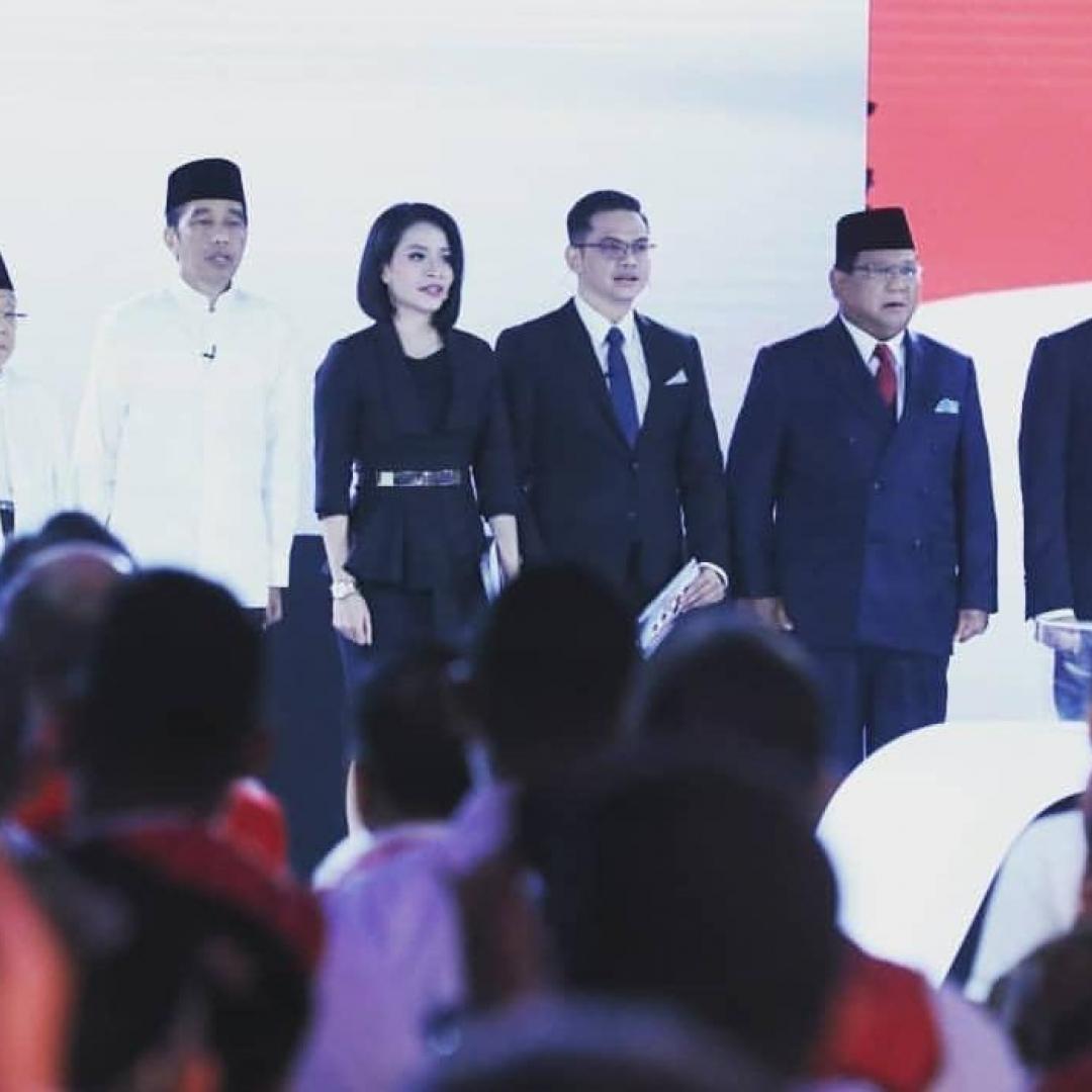 Final Debat Capres 2019 Jadi Topik Hangat Netizen