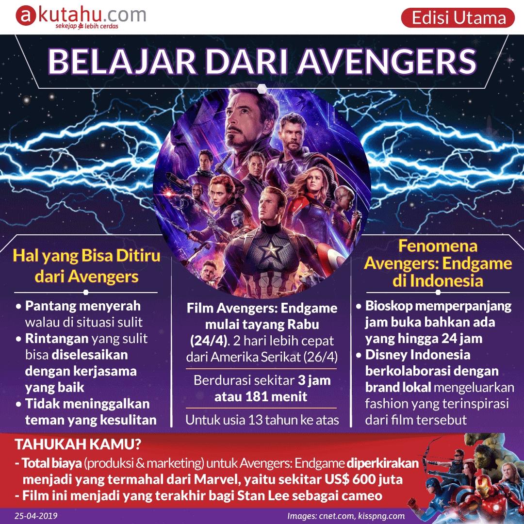 Belajar Dari Avengers