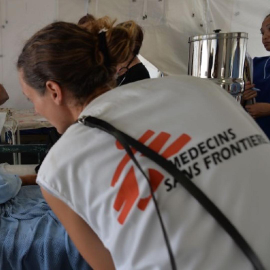 Aplikasi Ponsel dari Dokter Lintas Batas Bantu Dunia Kesehatan